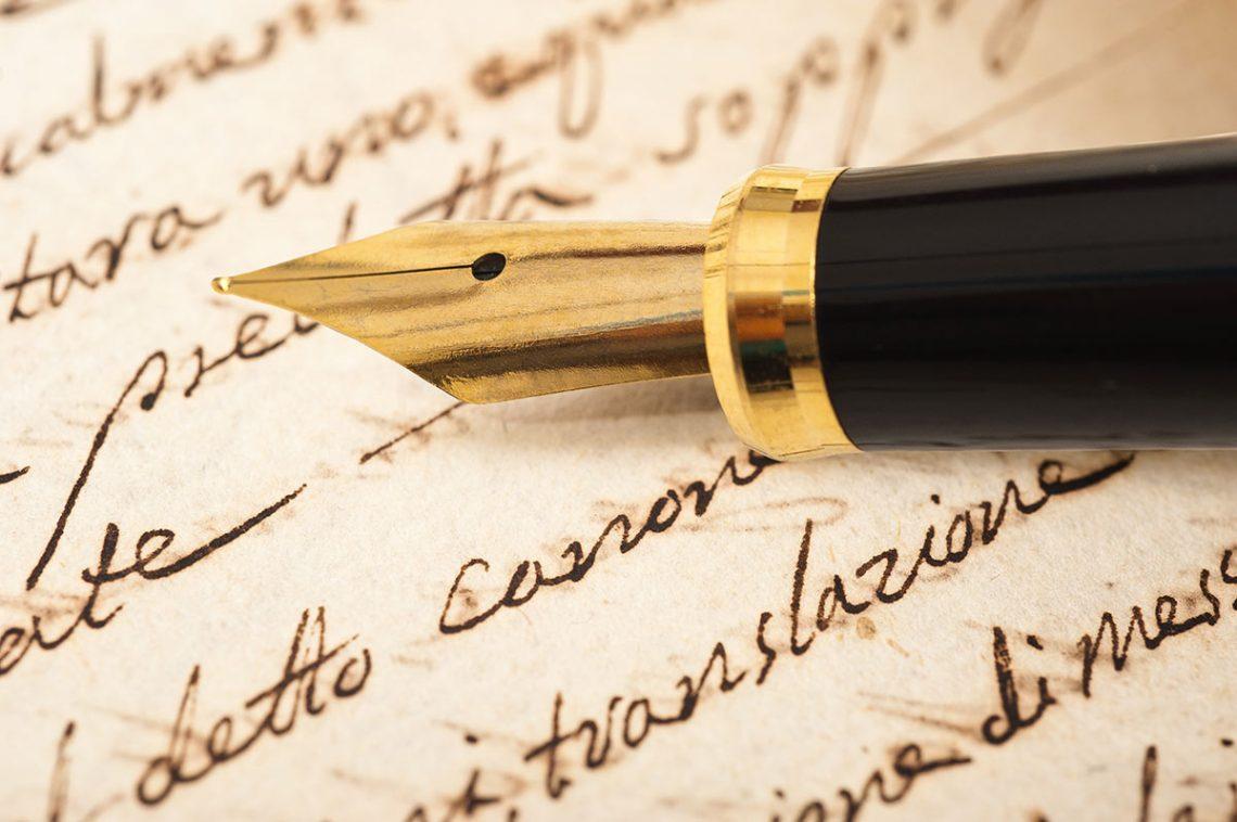 Storie di penne, pennini e svolazzi